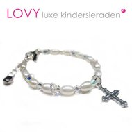 Communie-armbandje-Faith-wit